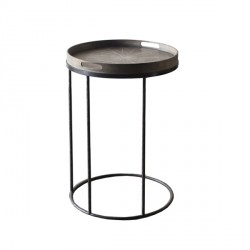 Mesita ROUND TRAY TABLE HIGH (no incluye Bandeja SMALL TRAY)